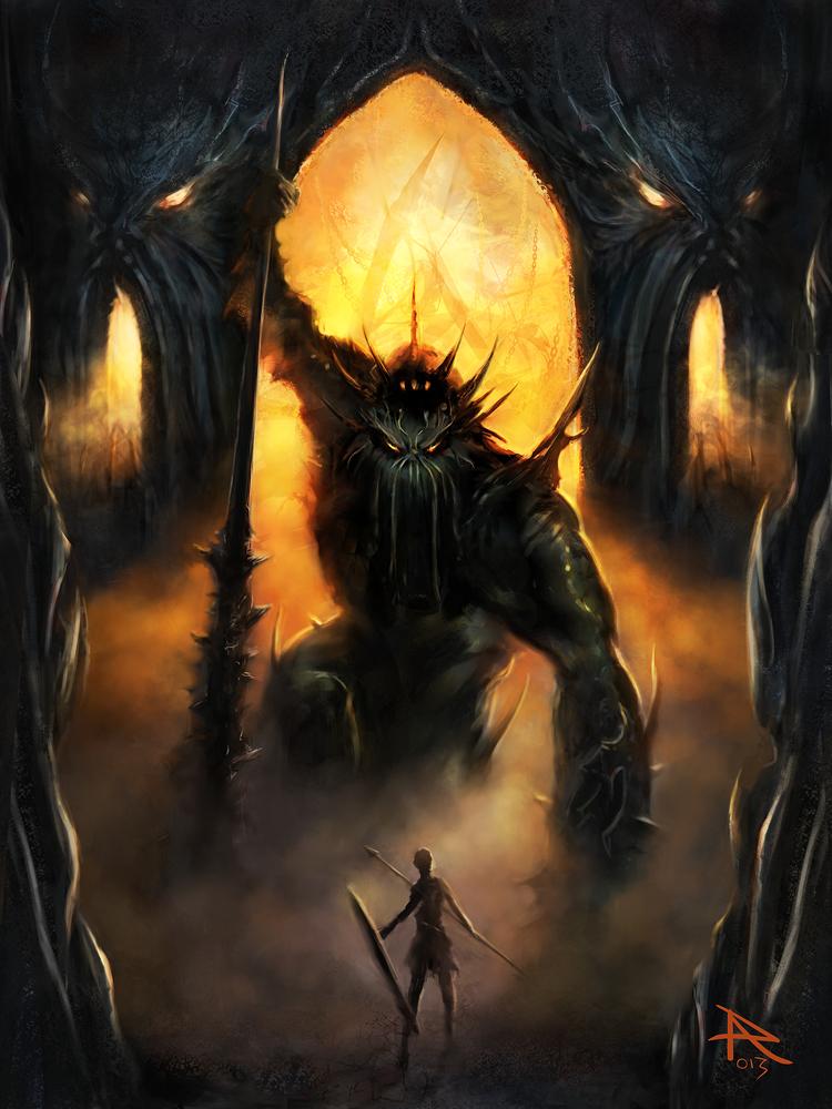 The Gate Keeper by PierluigiAbbondanza