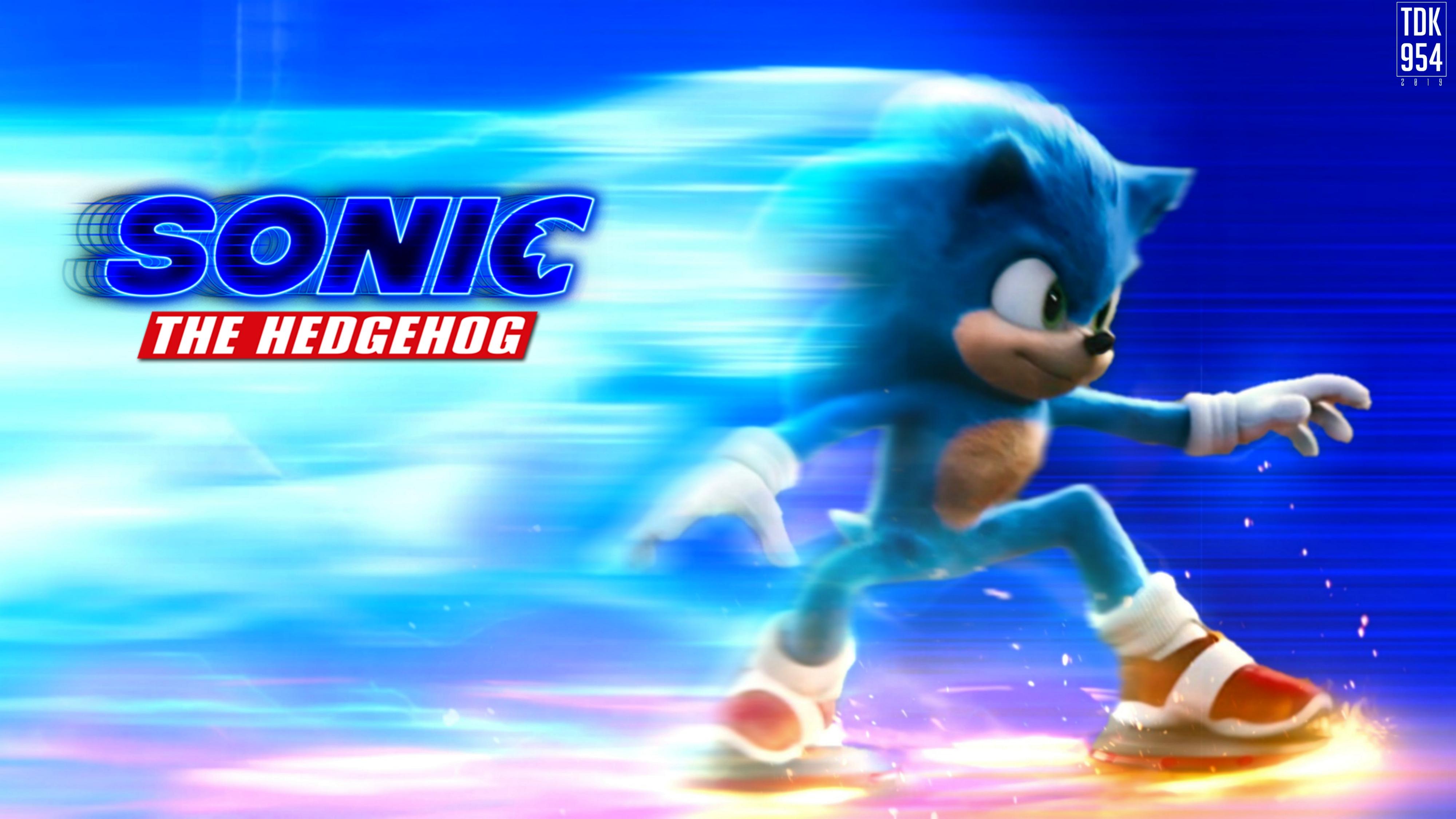 Sonic The Hedgehog Movie 2020 Wallpaper Banner By Thedarkknight954 On Deviantart