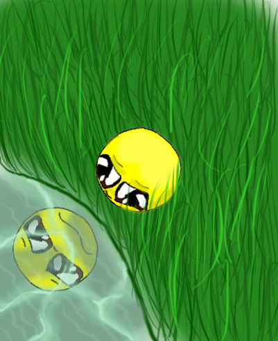 I look sad....