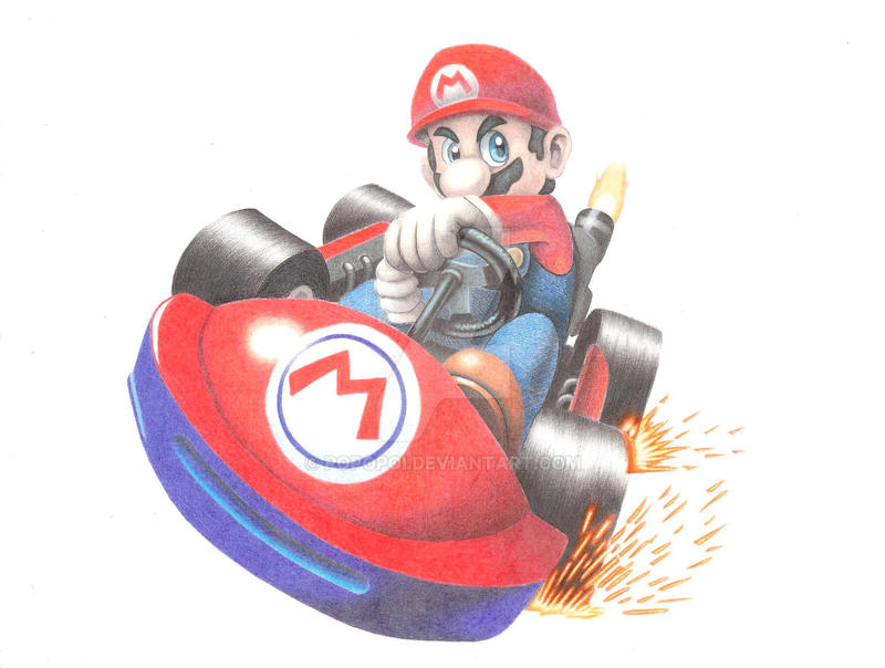 Mario Kart 64 by Popopoi