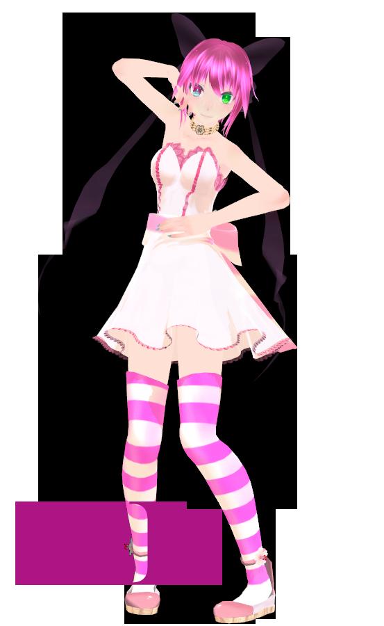 Tda alysa Fernandez Cute Dress Pink DL by Alylisa