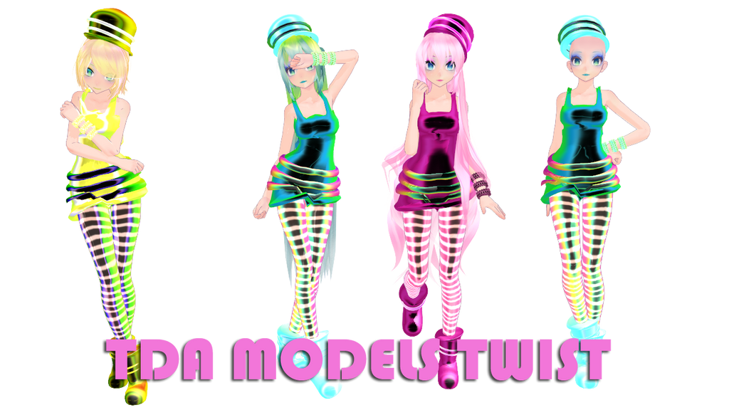TDA Twist Models DL by Alylisa
