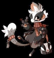 Gift - European Badger by Momoless