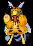 #264 Amazon Bavom - Blue-Banded Bee