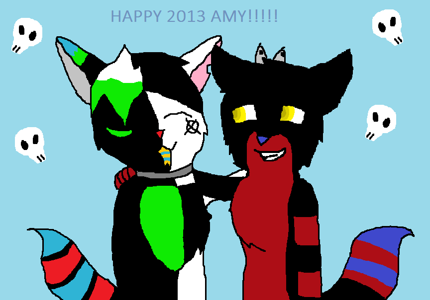Happy 2013 by Breethewolfgirl