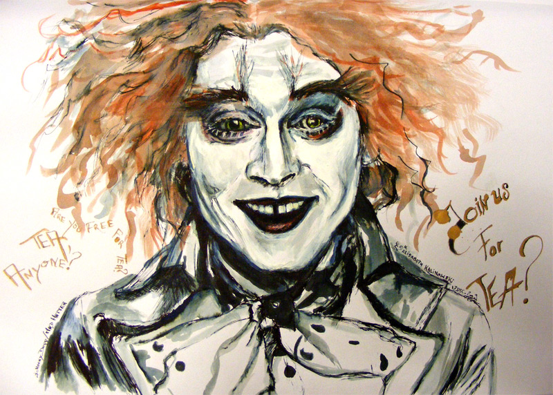 Mad Hatter Johnny Depp by LizDouceFolie