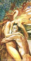 detail Etreinte Hug by LizDouceFolie