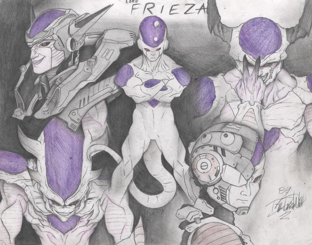 Frieza Tribute by DillonGetWhittIt