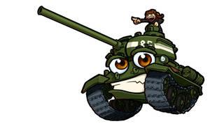 T-34-85 Treadhead