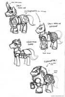 40K Ponies by Sanity-X
