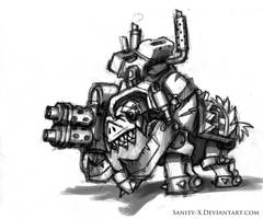 Warboar Grimskull by Sanity-X