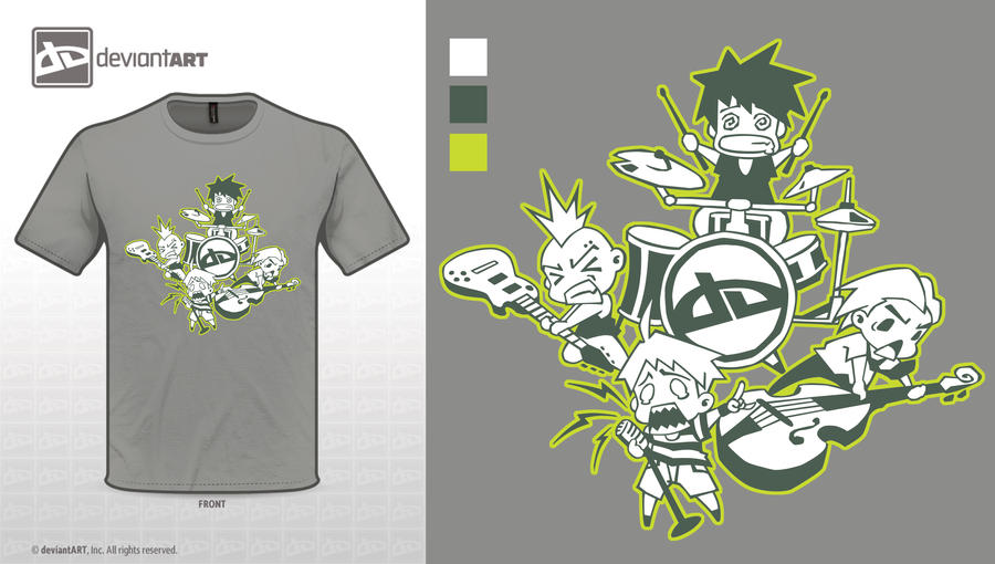 LETS ROCK!!! Design Challenge Shirt by geneous