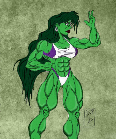 o0 She Hulk 0o by dnbdjq45