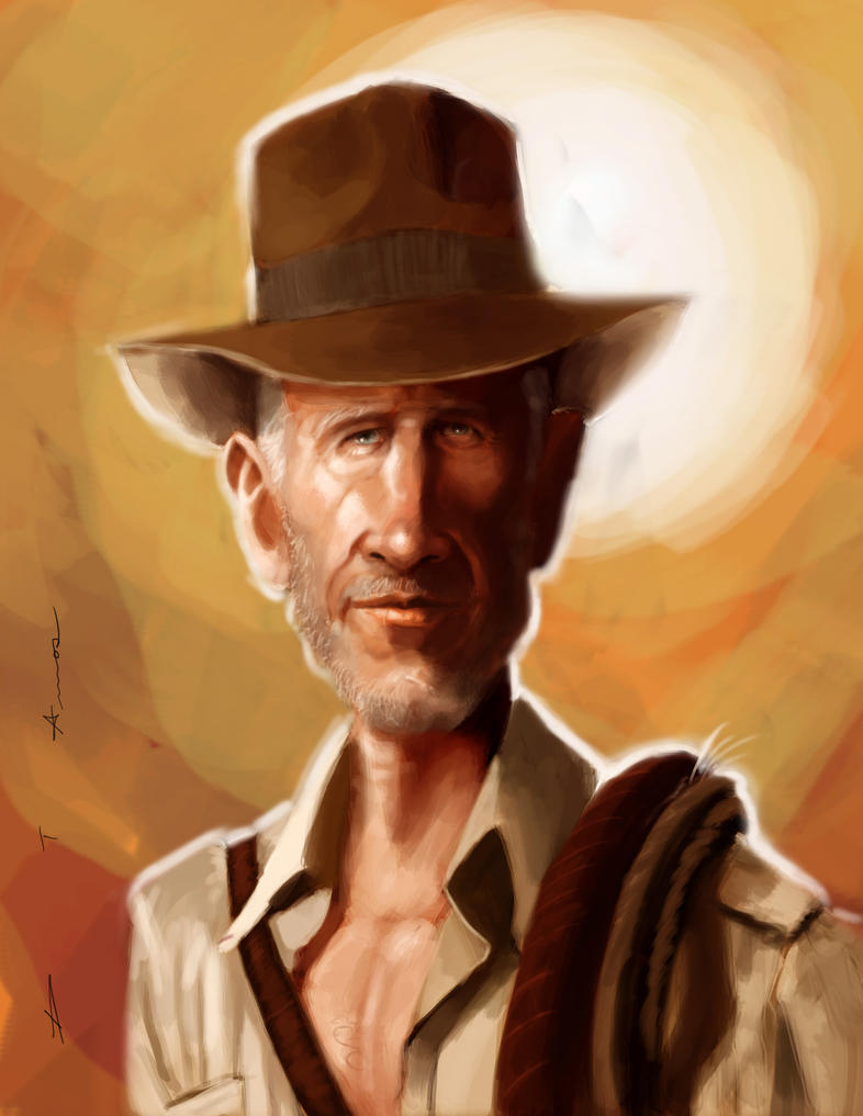 Indiana Jones by DevonneAmos