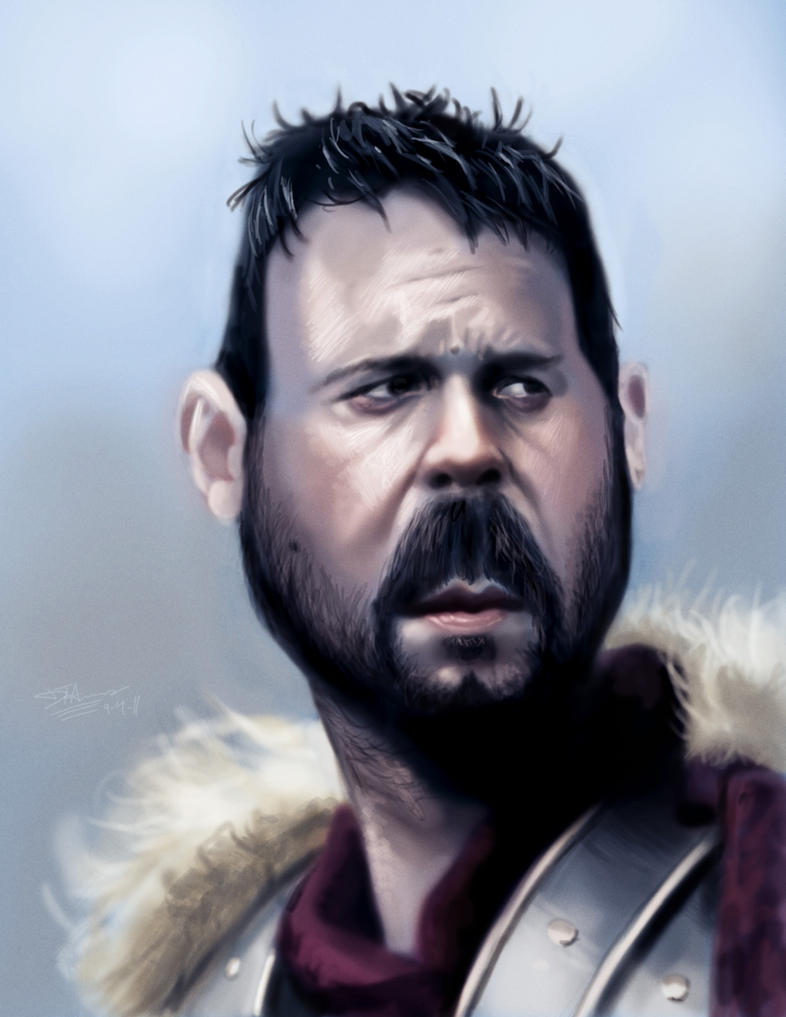 Maximus caricature by DevonneAmos