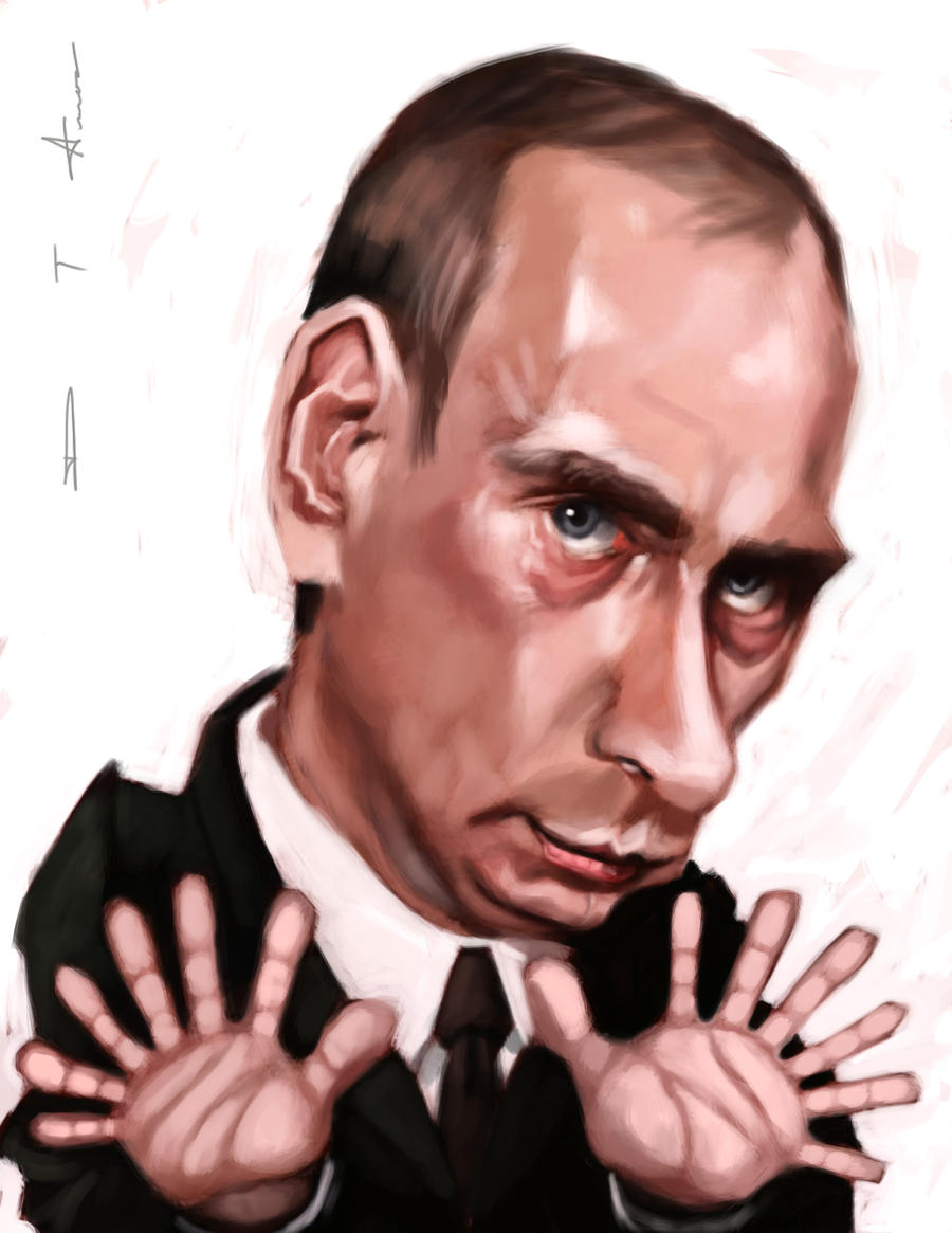 Any comments on Mr. Putin's hand? Vladimir_putin_by_devonneamos-d4jn9pp