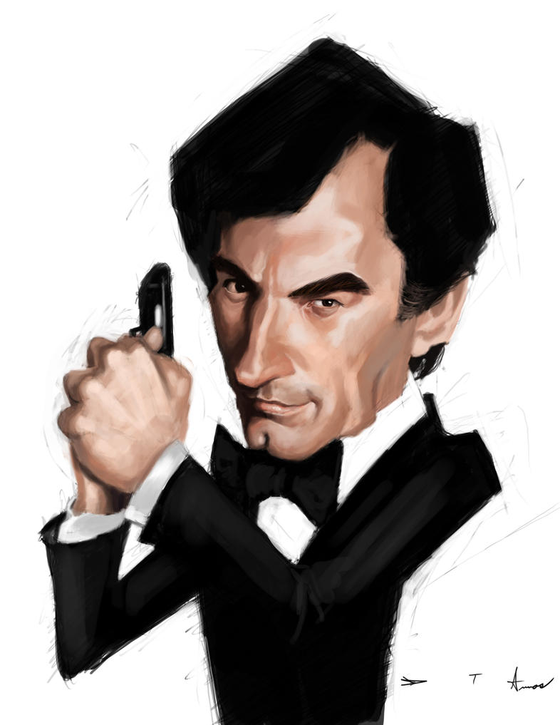 Timothy Dalton 007 by DevonneAmos