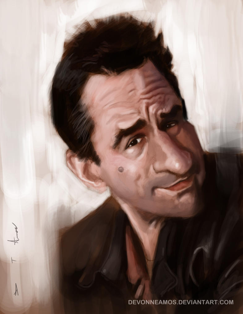 Robert De Niro by DevonneAmos