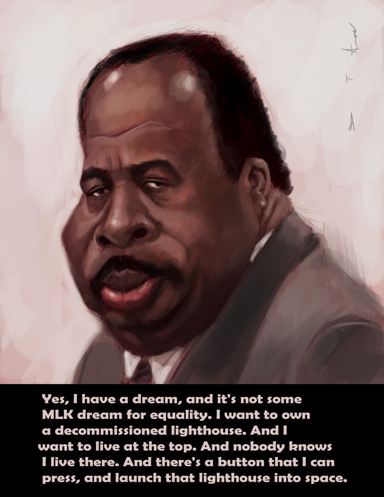 stanley the office. stanley hudson - the office by devonneamos