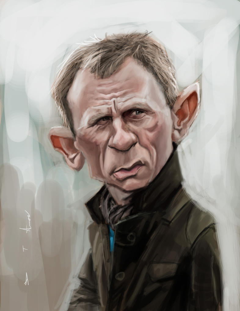 Daniel Craig by DevonneAmos