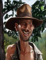 Dr. Henry Walton (Indiana) Jones Jr. by DevonneAmos