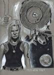 Kara Thrace sketch by DevonneAmos