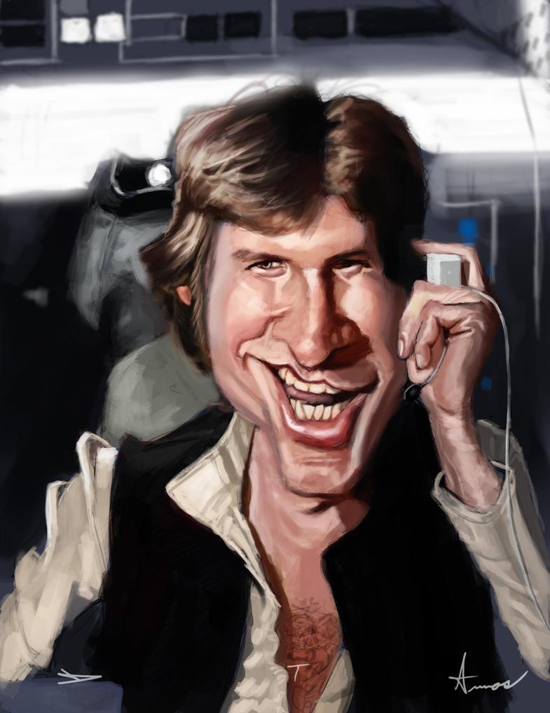Han Solo by DevonneAmos