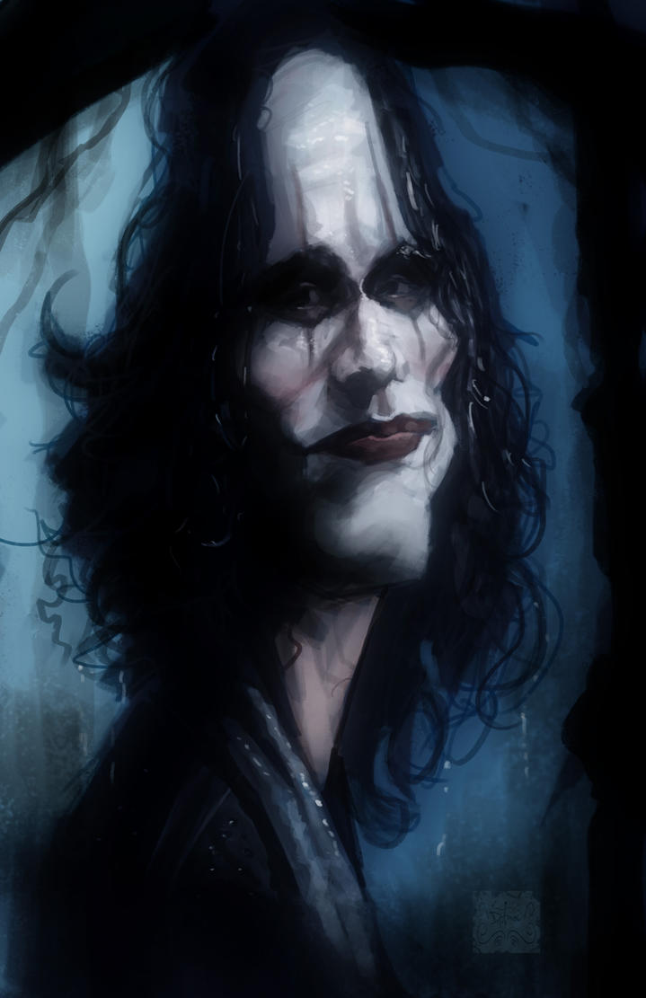 Brandon Lee - The Crow by DevonneAmos