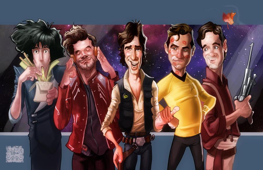Space Cowboys by DevonneAmos