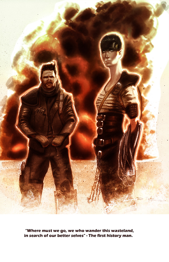 Mad Max and Furiosa by DevonneAmos