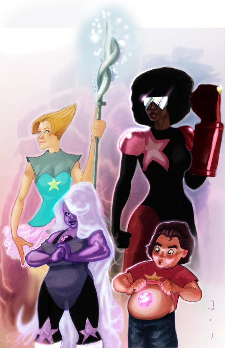Steven Universe by DevonneAmos