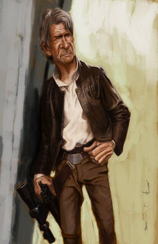 Old Man Han Solo