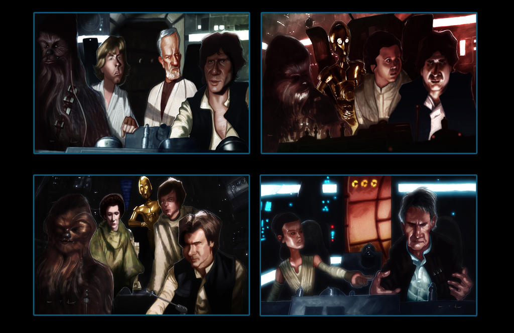 Han Solo - Right Back In The Mess V.2 by DevonneAmos