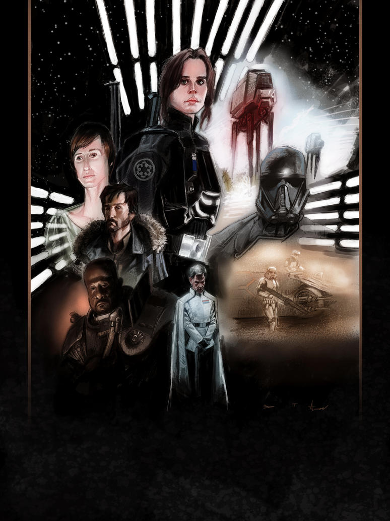 Rogue One : A Star Wars Story by DevonneAmos