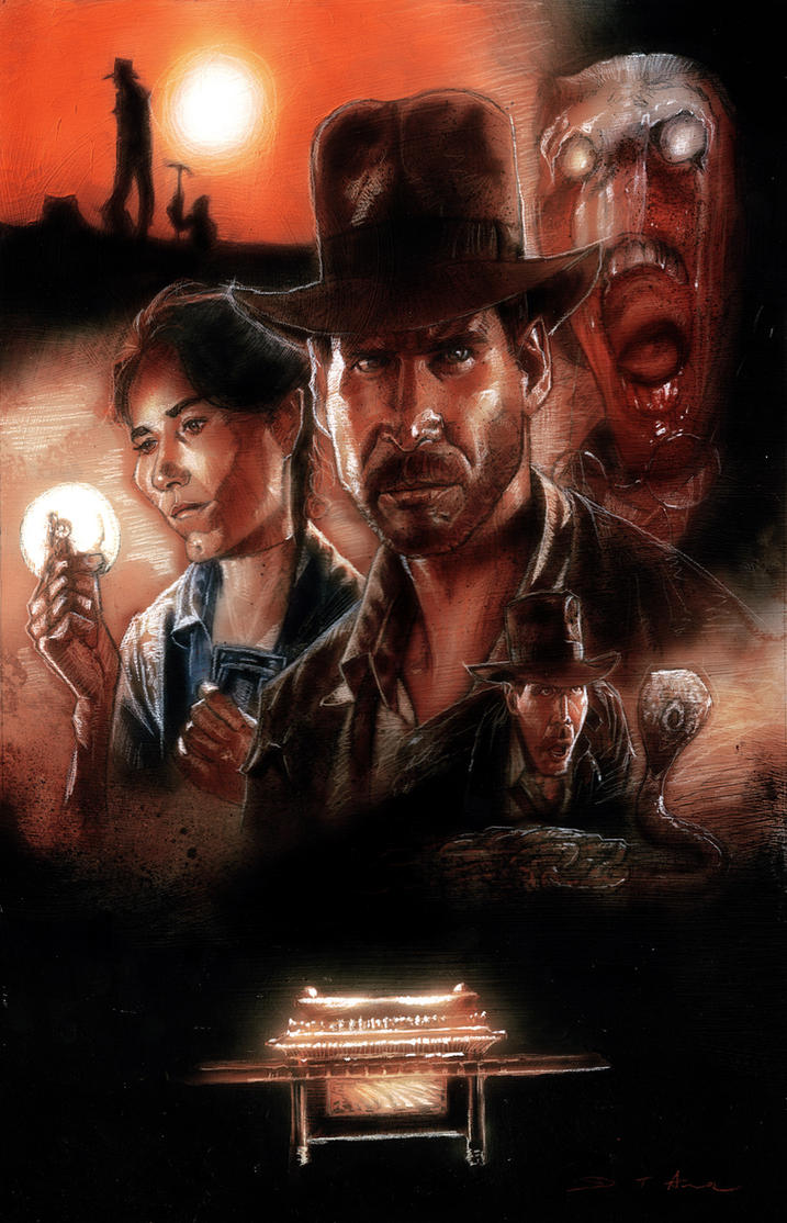 Raiders of the Lost Ark by DevonneAmos