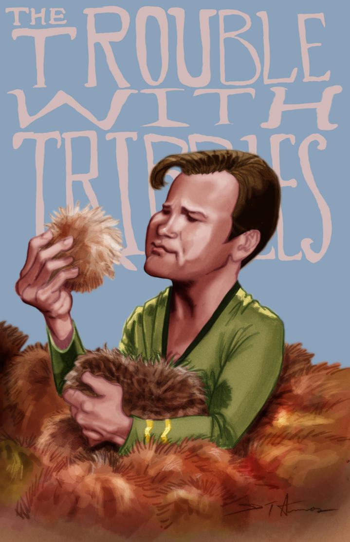 The Trouble With Tribbles by DevonneAmos