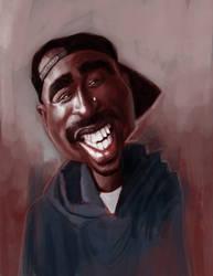 Tupac Shakur by DevonneAmos
