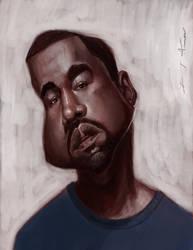 Kanye West by DevonneAmos