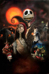 The Nightmare Before Christmas  by DevonneAmos
