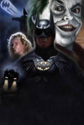 Batman 89 by DevonneAmos
