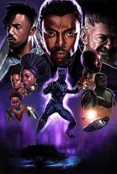 Black Panther by DevonneAmos