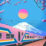 Train To Mt Fuji