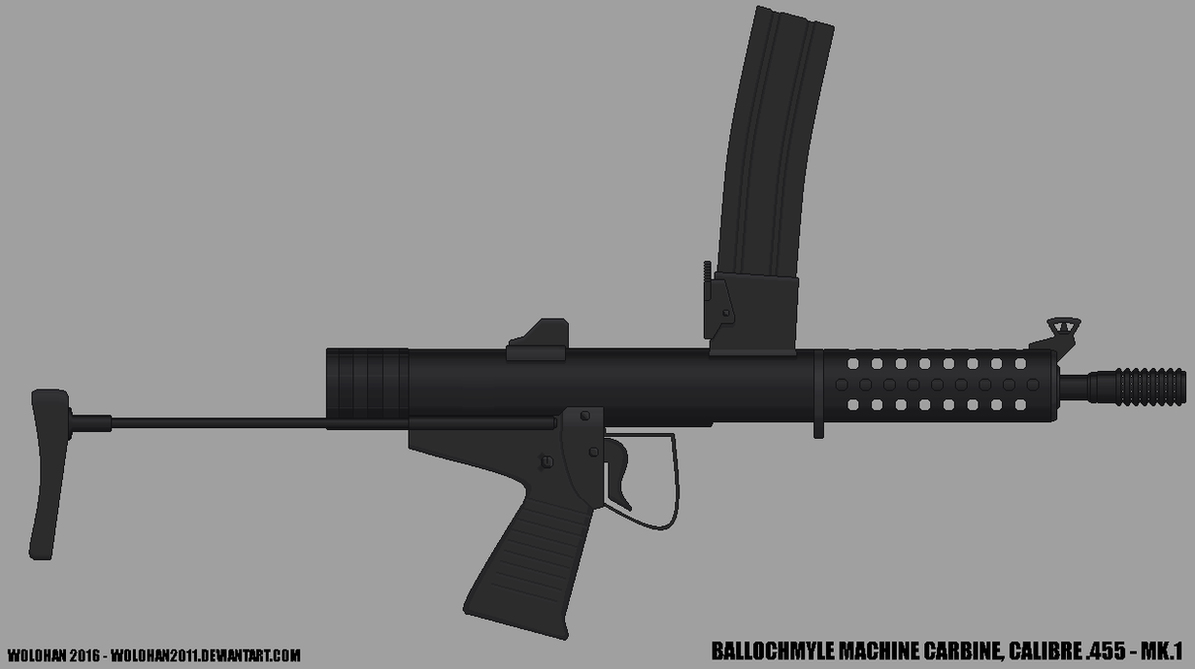 Ballochmyle Machine Carbine by Wolohan2011