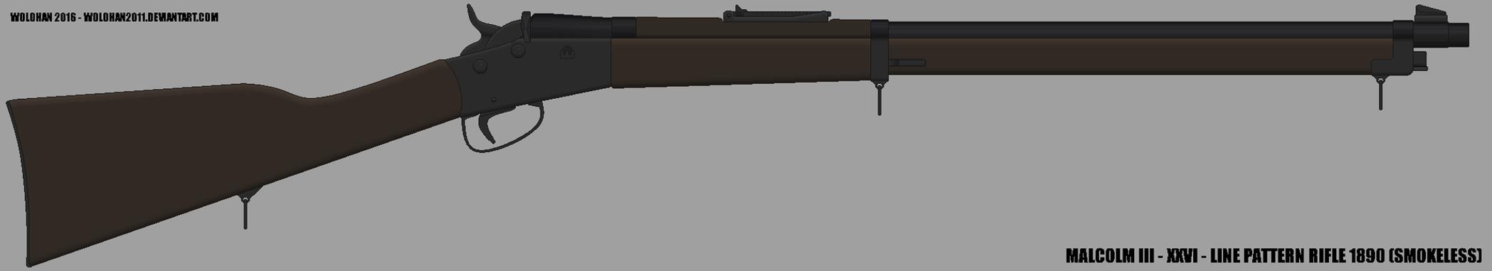 Malcom III - XXVI - Line Pattern Rifle (Smokeless) by Wolohan2011