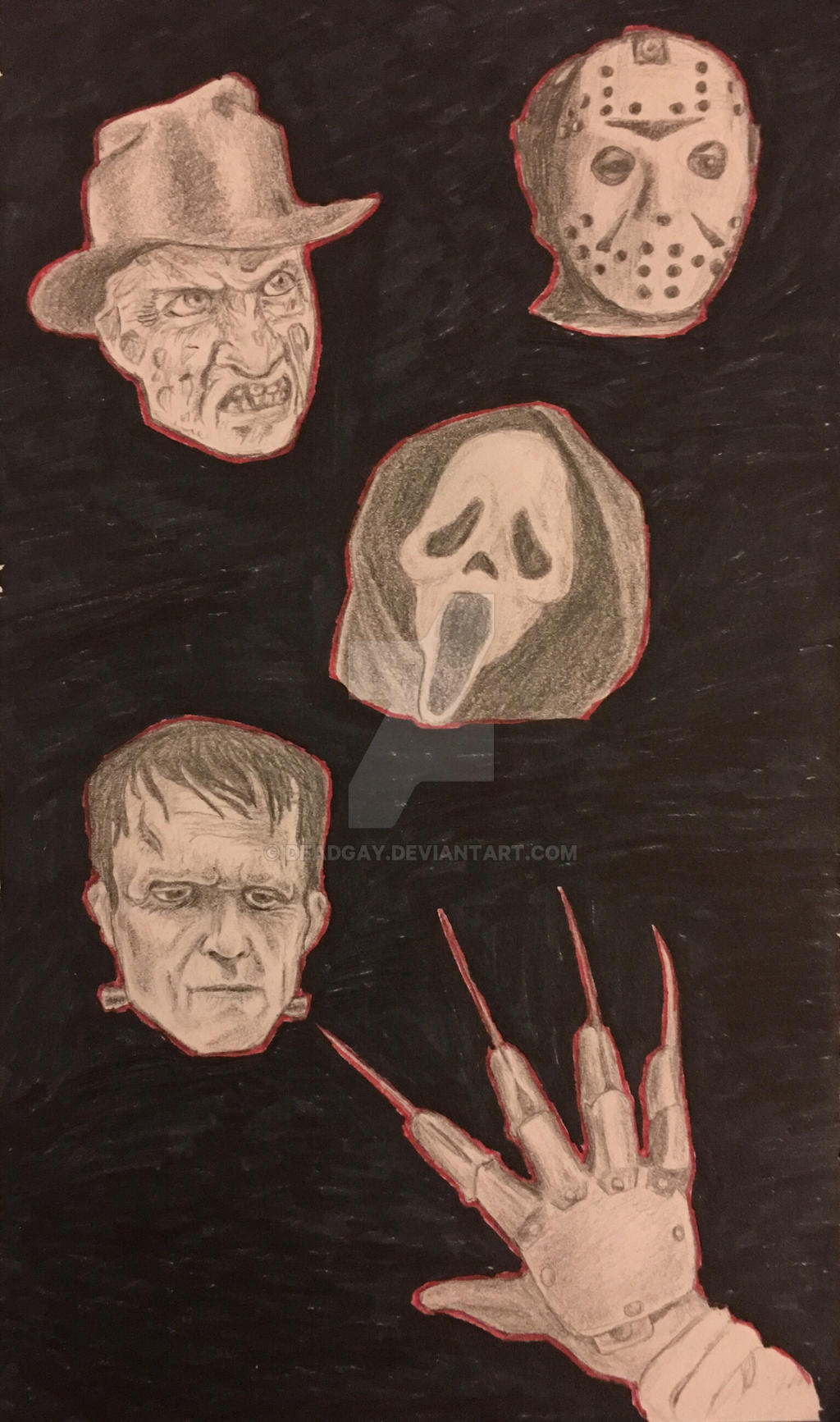 Horror Movie Characters By Deadgay On Deviantart