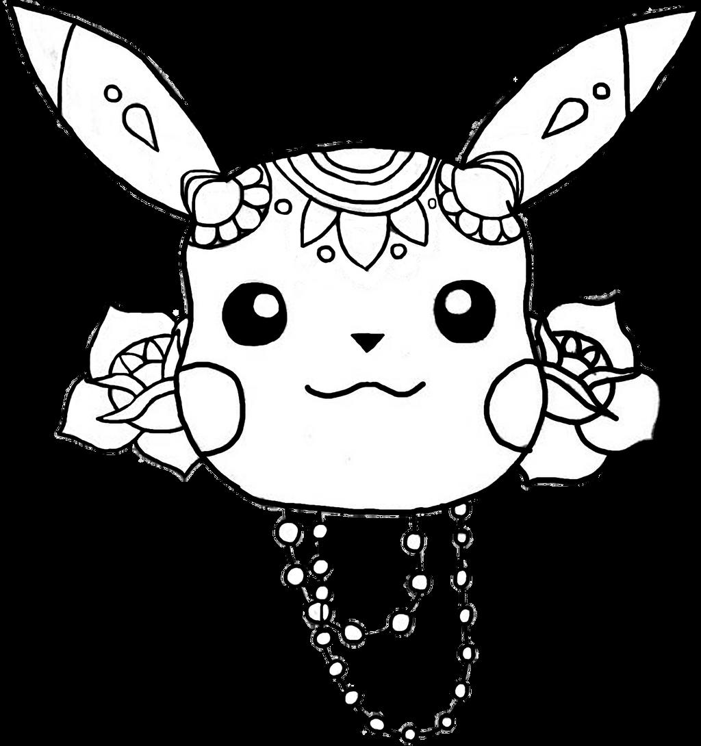 Pikachu mandala by Urianity on DeviantArt