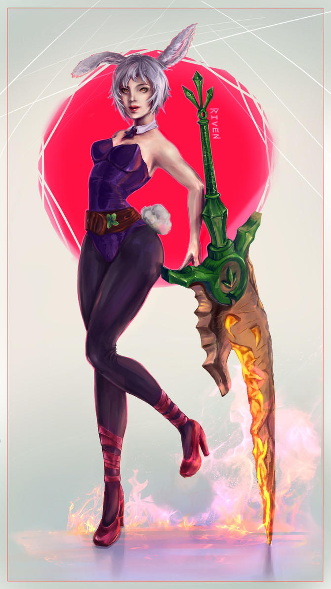 Bunny Riven by MimsyMire