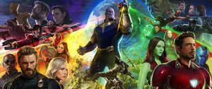 Avengers: Infinity War by WidowHunter3D