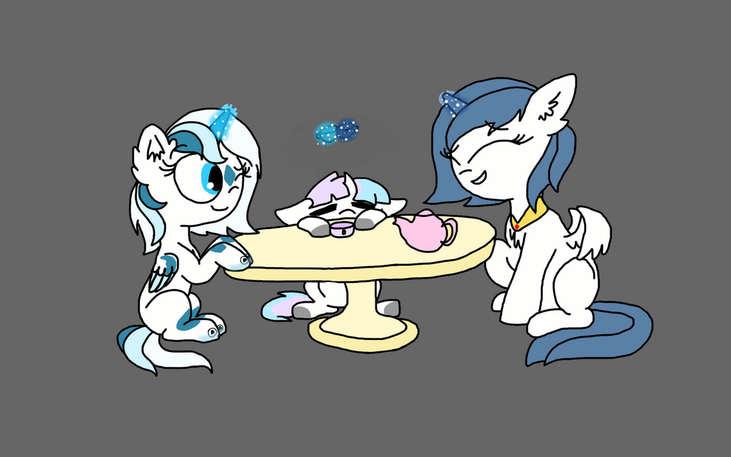 AT: Tea Party by DoodletheExpoodle