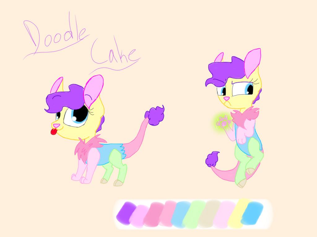 Ponysona: Doodlecake by DoodletheExpoodle